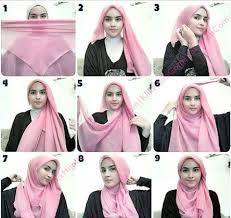 tutorial hijab segi empat paris simple kreasi jilbab segi empat penelusuran google kreasi jilbab