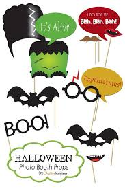 halloween photo booth props printable pdf halloween photo booth props printables halloween photos photo