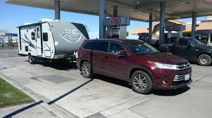 toyota highlander towing towing a 3700 lb travel trailer toyota nation forum toyota car