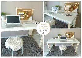 diy bureau bureau girly scandinave desk girly bureau et avec diy