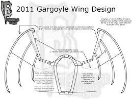gargoyle costume gargoyle wing design