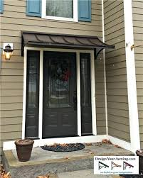 Metal Awning Prices The Concave Metal Awning Metal Porch Awning Kits Metal Patio