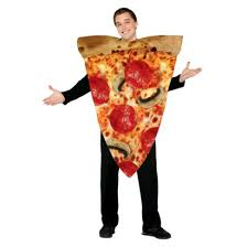 Cheese Halloween Costume Pizza Slice Costume Size Fits Adults Pizzas