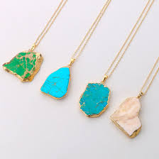 turquoise stone pendant necklace images Miracle turquoise gold necklace best necklace jpg