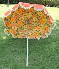 Floral Patio Umbrella Mid Century Patio Umbrella Wish My Back Patio Was Big Enough For