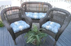 Navy Blue Patio Chair Cushions Outside Cushions For Wicker Chairs Cushions Decoration