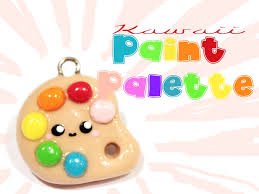 Paint Pallet by U203f U203f Paint Palette Kawaii Friday 57 Tutorial In Polymer Clay
