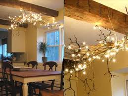 Twig Tree Home Decorating 15 Creative Home Decorating Ideas With Christmas Lights