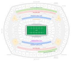 Wvu Parking Map New York Giants Suite Rentals Metlife Stadium Suite Experience