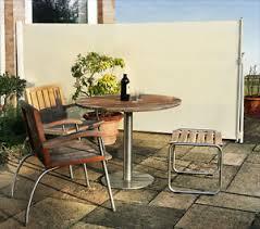 Patio Wind Screens by Patio Wind Break Side Awning Screen 1 58 X 3m Garden Outdoor