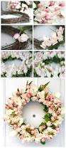 low cost and easy to make diy spring wreaths