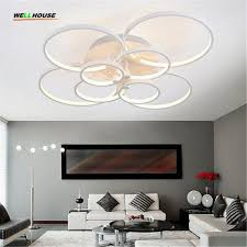Ceiling Lights For Bedroom Modern 265v Remote Living Room Bedroom Modern Led Avize Ceiling