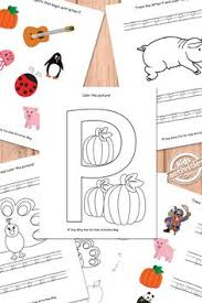 free letter p printable worksheets preschool alphabet and