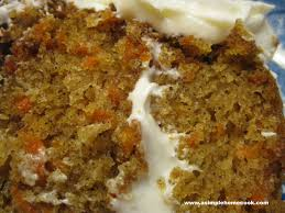 carrot cake or bars