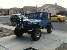jeep sahara lifted for sale 1993 jeep wrangler 4 0l 5 spd lifted with goodies