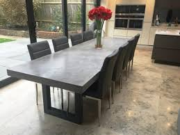 concrete top dining table concrete dining table outdoor investment values jmlfoundation s home