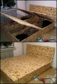 How To Build A Bed Frame With Storage Bed Storage Diy Search Creative Ideas Pinterest