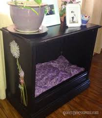 turn an old tv into a dog bed reclaim reuse recycle