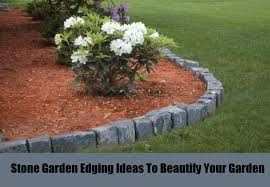Rocks For Garden Edging 4 Garden Edging Ideas To Beautify Your Garden Different Types Of