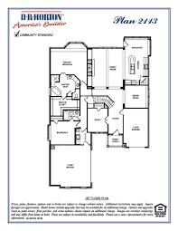 Dr Horton Home Floor Plans 2113 Tara Castle Ridge Estates Rockwall Texas D R Horton