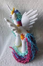 my little pony friendship is magic princess celestia amigurumi