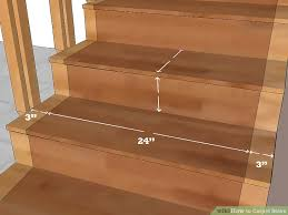 Hardwood Floor Stairs How To Carpet Stairs With Pictures Wikihow