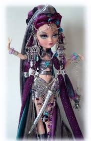 all after high dolls ooak after high doll high doll warrior custom by