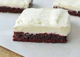 red velvet sugar cookie bars modern honey