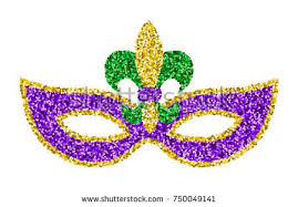 mardi gras mask and free vector colorful flowers mardi gras mask free vector