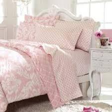light pink and white bedding vtg rainbow sheet set 1980 s thomaston nos 4 pc double set aspen