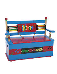 amazon com wildkin musical toy box bench toys u0026 games