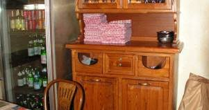 credenza ristorante credenza ristorante 1 in legno fabbrica di zona giorno su misura a