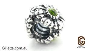 gillett s jewelers pandora august birthstone flower charm pandora code 790580pe
