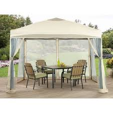 Patio Gazebos Better Homes And Gardens 10 X 10 Outdoor Portable Patio