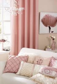 Pale Pink Curtains Decor 49 Best Pink Living Room Images On Pinterest Pink Living Rooms