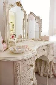 Simply Shabby Chic Vanity by Scarletlipscrimsonfingertips Styling Dressing Tables