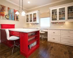 Craft Room Office - office design attic turned office renovation craft office ideas