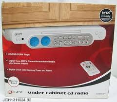 under cabinet stereo cd player under cabinet radio cd player under cabinet radio player com ilive