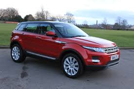 red range rover land rover range rover evoque for sale mcnicoll vehicle hire ltd