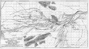 Phoenix Map by History Adventuring Rediscovering Omar Turney Phoenix Arizona