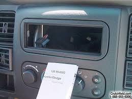 2002 2005 dodge ram 1500 quad cab car audio profile