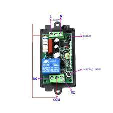 long range remote control light switch rf wireless remote control light switch 220v power switch system 12