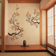 Tree Wall Decals For Living Room Cherry Blossom Wall Decal Living Room Bedroom Flower Removable