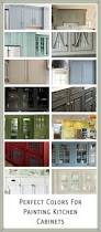 Painted Kitchen Cabinets Color Ideas Kitchen Colored Kitchen Cabinets Cabinet Colors Before After The