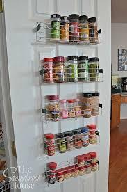 kitchen shelf organization ideas lovable wooden spice rack for pantry door and rev a shelf kitchen