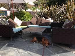 backyard restaurant w hotel outdoor furniture design and ideas