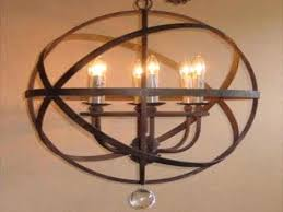 Armillary Sphere Chandelier Style Pendant Lights Nautical Lighting Coastal Ls
