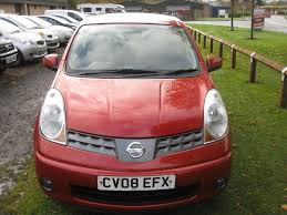 nissan red used red nissan note for sale borders
