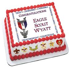 eagle scout cake cub scout cake edible icing sheets boy scout cake