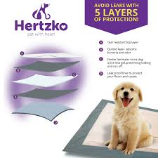 amazon com 50 large super absorbent training pads by hertzko pads